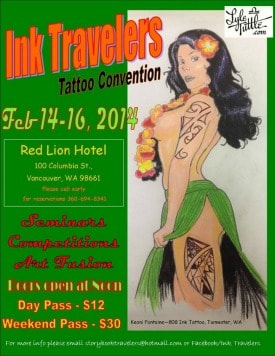 Annual Ink Travelers Tattoo Convention 2014-min