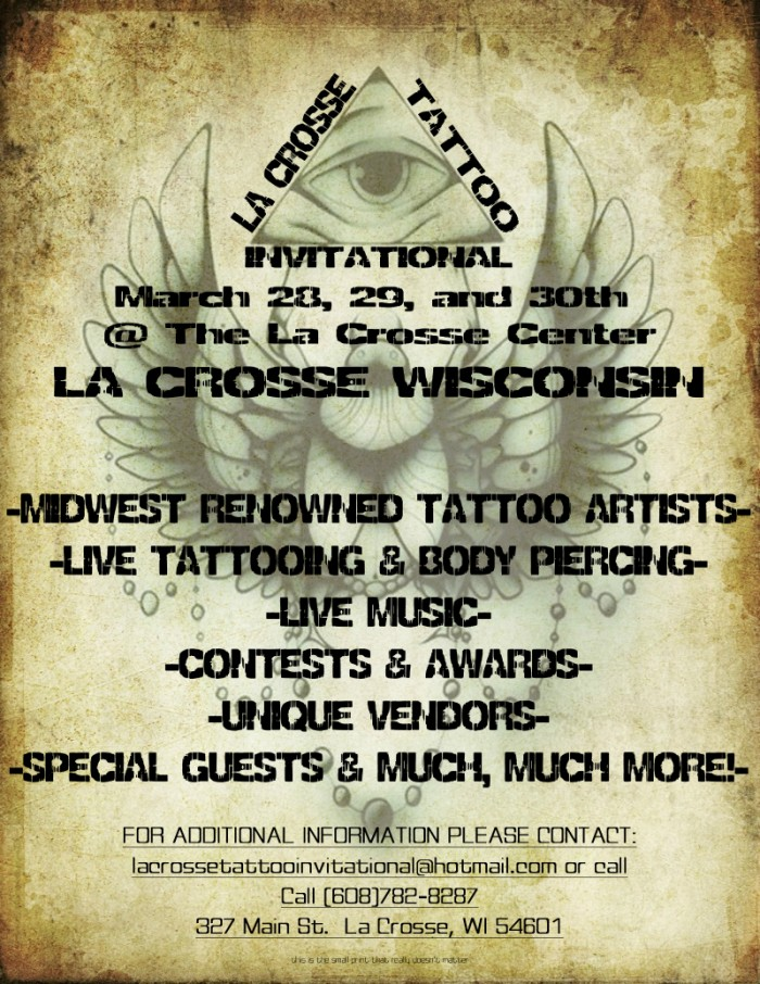 LaCrosse Tattoo Convention 2014