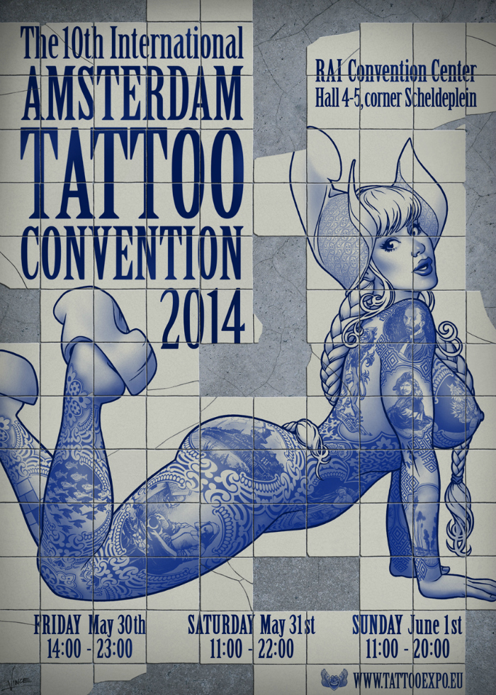 Amsterdam Tattoo Convention  May 2016