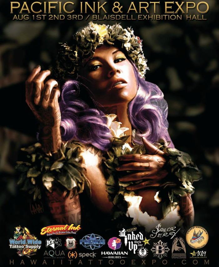 Pacific ink art expo hawaii august 2015 for Tattoo expo hawaii