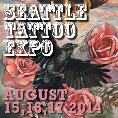 Seattle tattoo expo august 2015 for Tattoo expo seattle