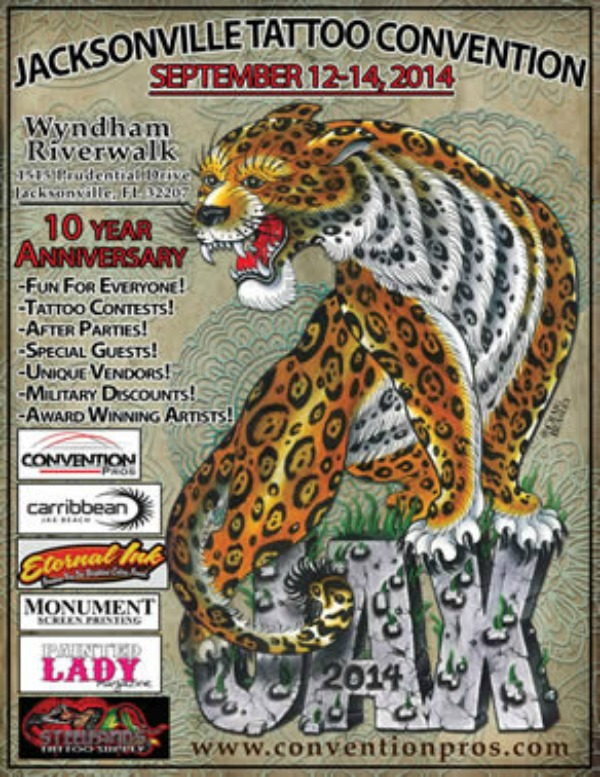 Jacksonville tattoo convention august 2015 for Best jacksonville tattoo artists