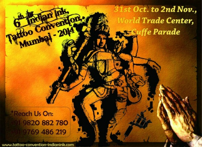 2014 6th Indian Ink International Tattoo Convention