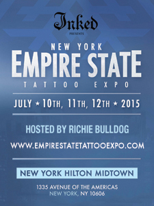 New York Empire State Tattoo Convention 2015