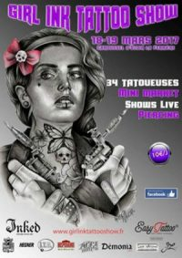 Girl'Ink Tattoo Show 2017
