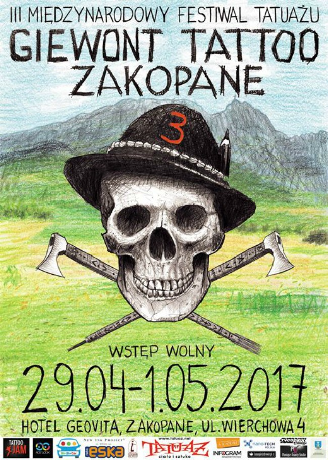 Giewont Tattoo Zakopane 29 April 2017