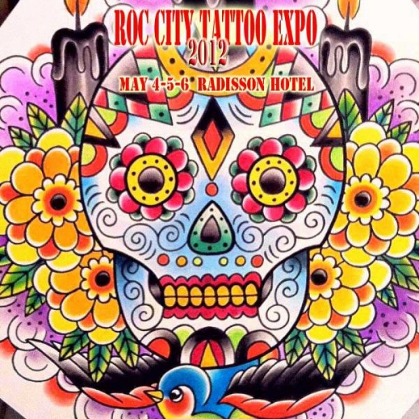 Roc City Tattoo Expo 2012 Poster