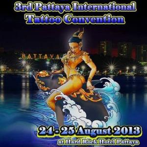 2013 3rd Pattaya International Tattoo Convention