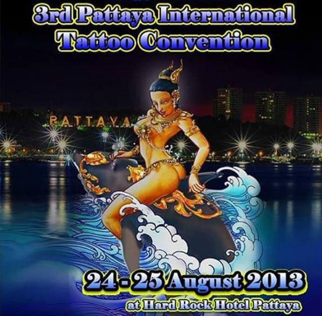 2013 Pattaya International Tattoo Convention