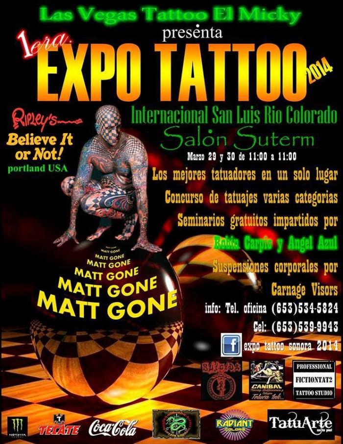 Expo Tattoo Sonora