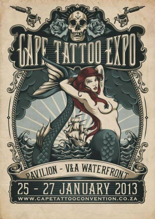 Cape Town Tattoo Expo 28 February 2014