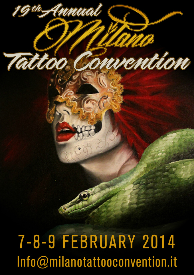 Milano Tattoo Convention 2014 Poster