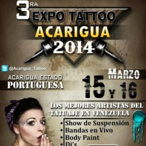 2014 Expo Tattoo Acarigua