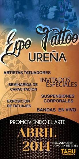Expo Tattoo Ureña 2014