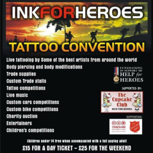 2014 Ink for Heroes Tattoo Convention
