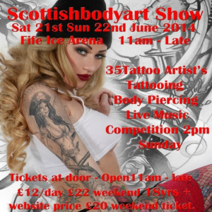 2014 Scottish Body Art Show