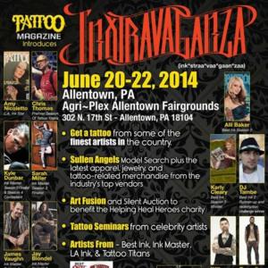 2014 Tattoo Magazine Inxtravaganza