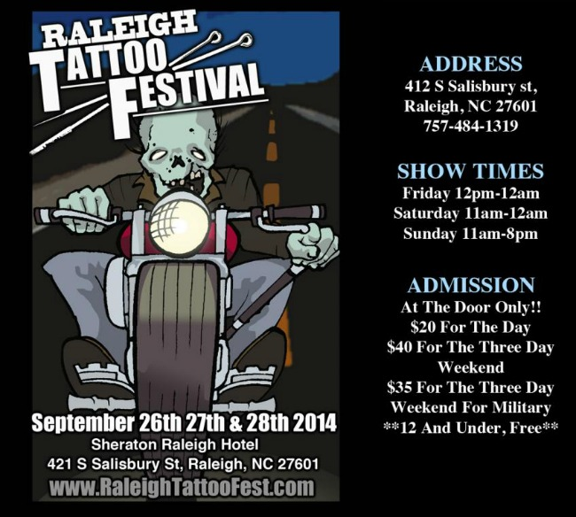 2014 Raleigh Tattoo Festival