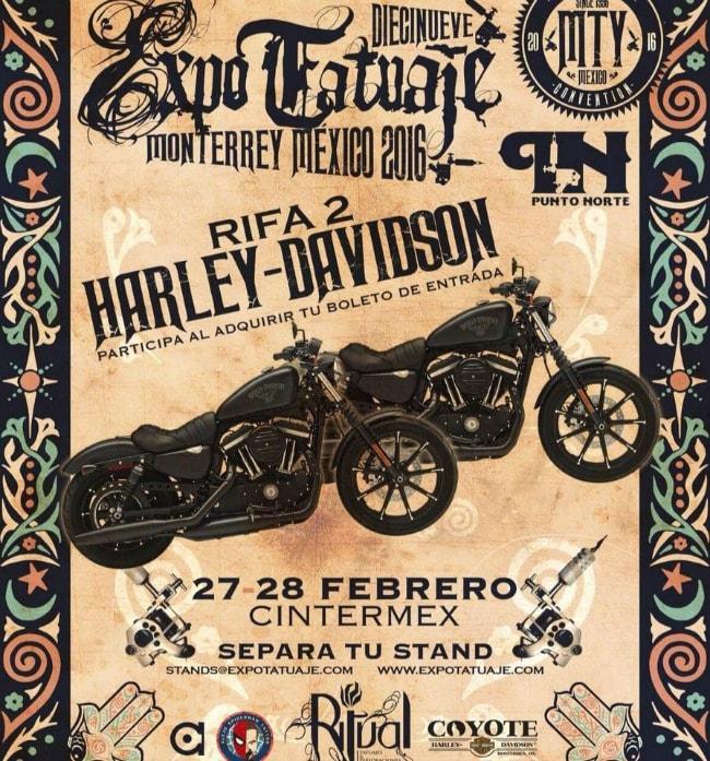 2016 Expo Tatuaje Monterrey