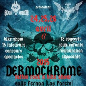 2015 Dermochrome Tattoo Rock N Bike Show
