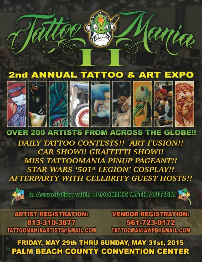 Tattoo Mania Expo West Palm Beach - May 2015