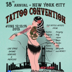 2015 18th NYC Tattoo Convention