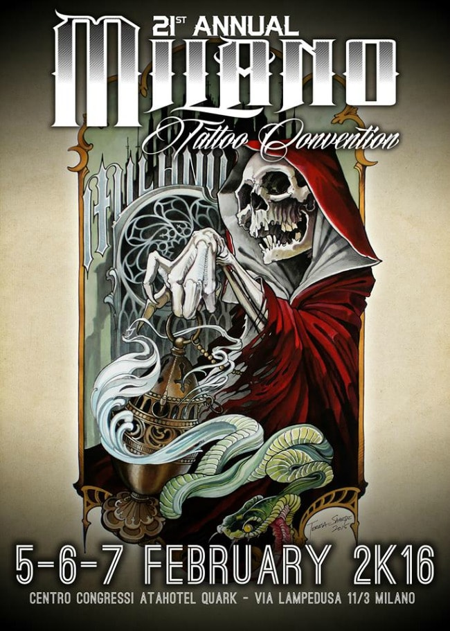 Milano Tattoo Convention 2016 Poster