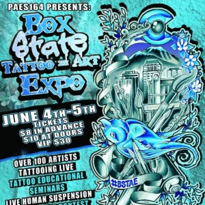 2016 Box State Tattoo & Art Expo