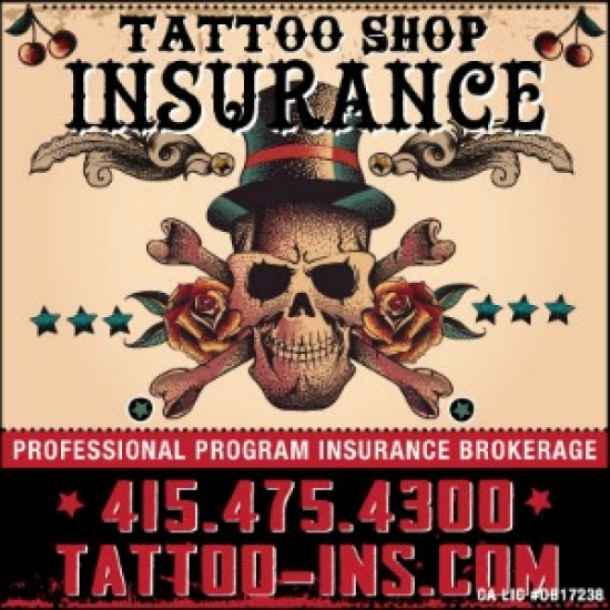 Tattoo Shop Insurance Brokerage