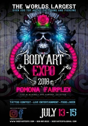 Body Art Expo Pomona 2018