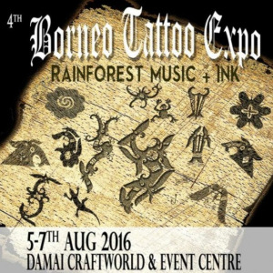 2016 4th Traditional Tattoo Expo Borneo