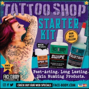 Face-Body Tattoo Supply 2019
