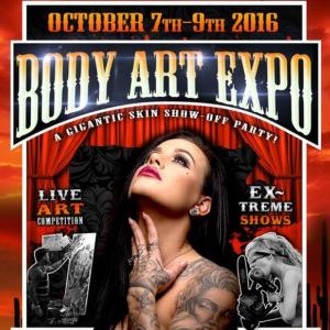 Body Art Expo Tucson • October 2016