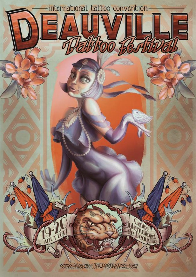 Deauville Tattoo Festival 2017 Poster