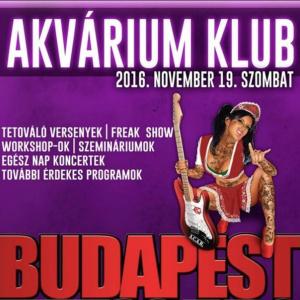 2016 Budapest Tattoo Expo