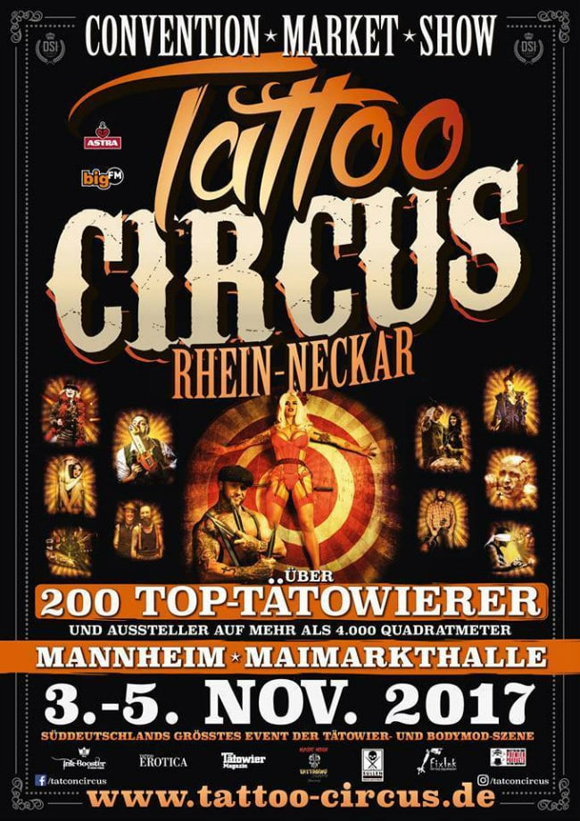 Mannheim tattoo convention