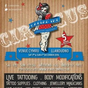 2016 Cariad Ink Tattoo Festival