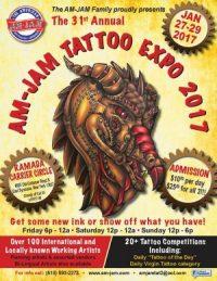 31st Annual AM-JAM Tattoo Expo 2017