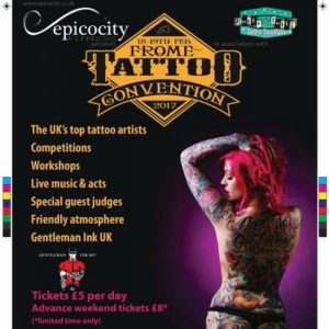 2017 Frome Tattoo Convention