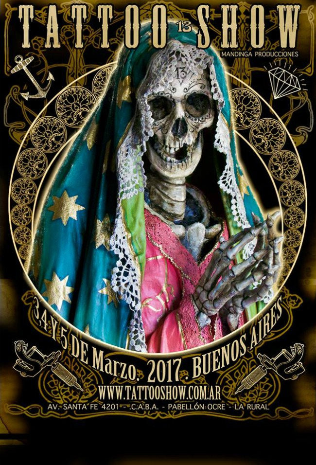 Tattoo Show Buenos Aires 2017 Poster