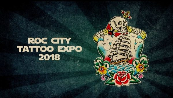 Roc City Tattoo Expo 2018 Poster