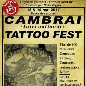 2017 Cambrai Tattoo Fest