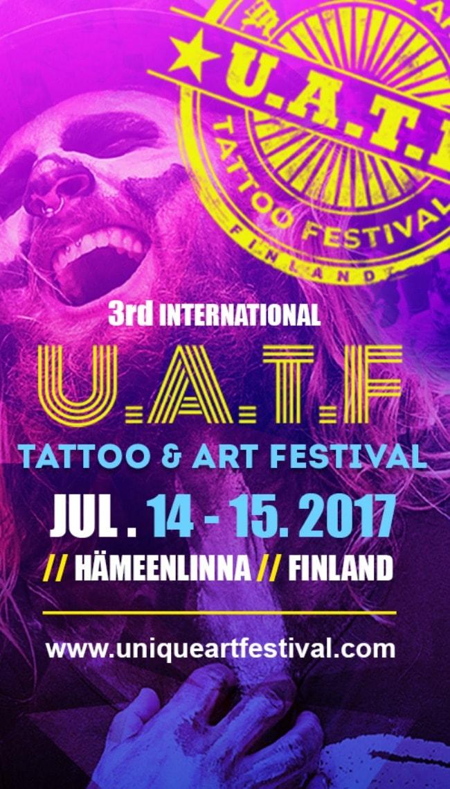 Unique Art Tattoo Festival 14 July 2017