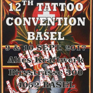 2017 12th Tattoo Convention Basel