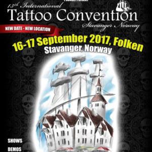 2017 13th International Tattoo Convention Stavanger