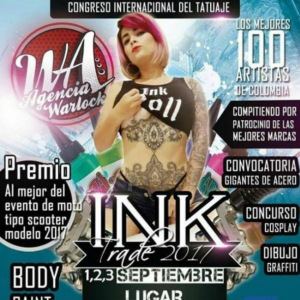 2017 Ink Trade Colombia tattoo convention