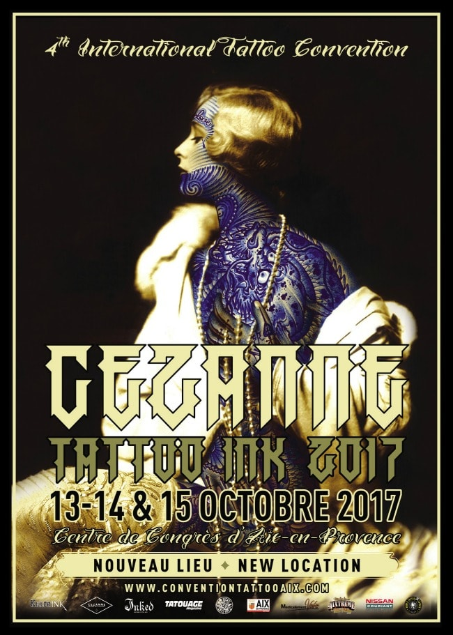 Cezanne Tattoo Convention 2017 Poster