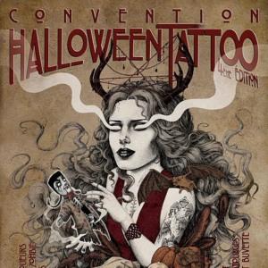 2018 Convention Halloween Tattoo Givors