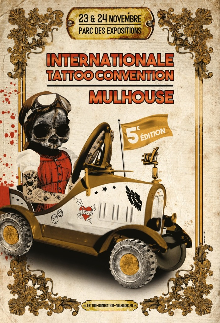 Mulhouse Tattoo Convention 2019