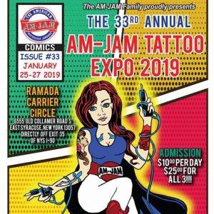 AM-JAM Tattoo Expo 2019